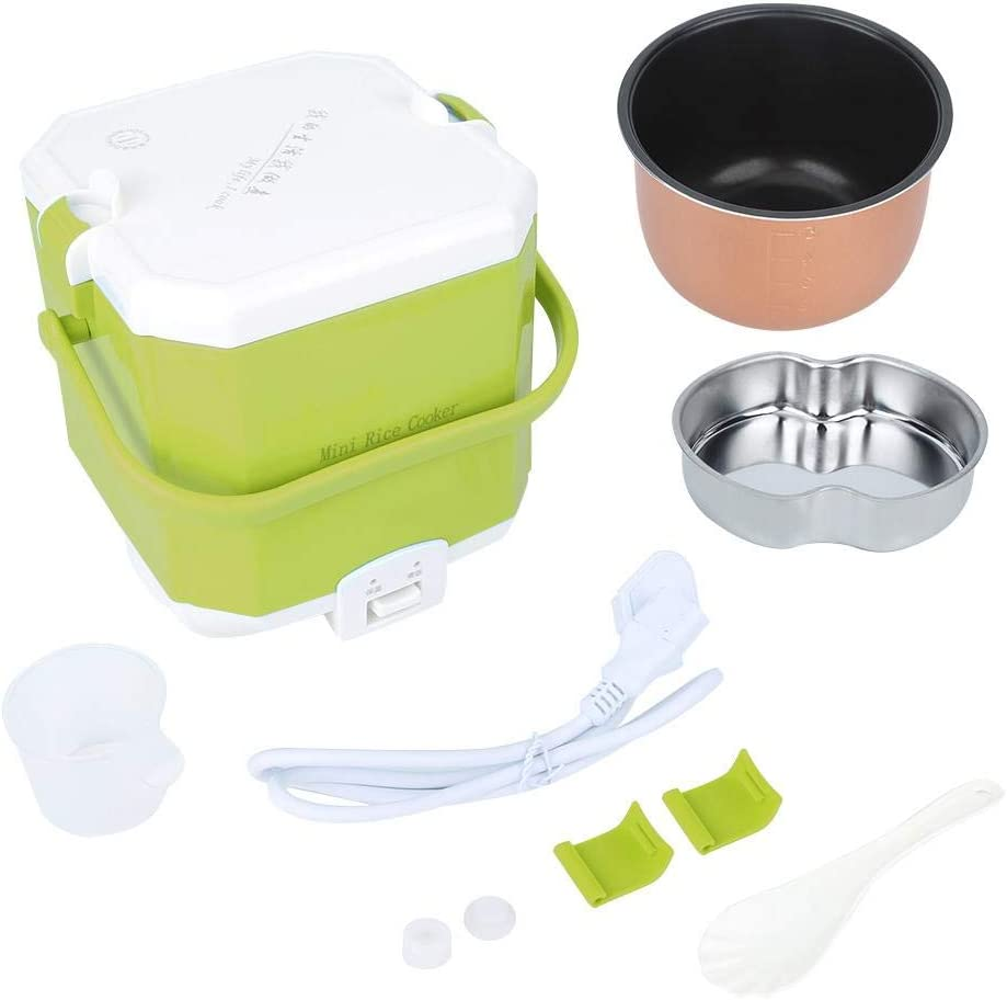 1.5l Mini Rice Cooker, Jadpes Household Portable Mini Rice Cooker Electric Food Steamer 1.5L 220V AU Plug Micom Rice Cooker and Warmer(Green)