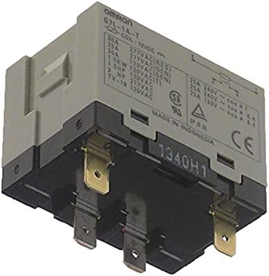 Bonamat - Relé de potencia para cafetera RLX85, RLX585, RLX241, RLX41, RLX141 (conector plano 6,3 mm, 1NO 25 A, 240/12 V DC): Amazon.es: Industria, empresas y ciencia