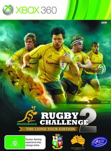 Rugby Challenge 2 - The Lions Tour Edition for Xbox 360 (Rugby Challenge 2 The Lions Tour Edition)