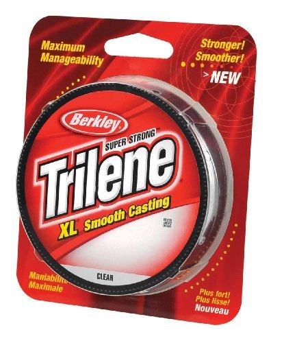 Berkley Trilene XL Clear Monofilament Line 300yd Spool 8lb - 17lb Coarse Game Carp Main Line (10lb) by Berkley