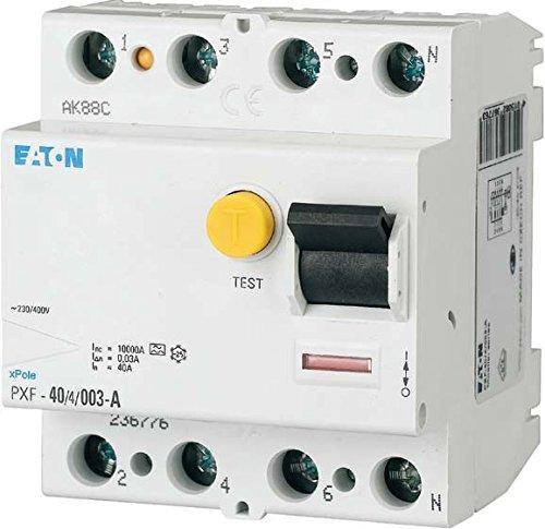 Eaton 236804 Fi-Schutzschalter 4-polig 63A 300mA PXF-63/4/0,3A ...