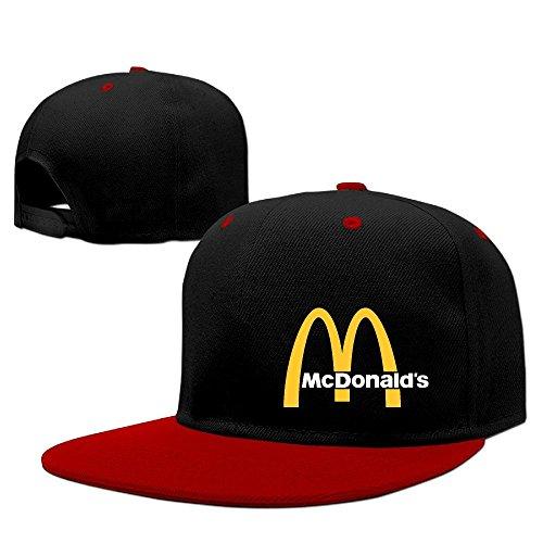 traveleat-mcdonalds-90s-logo-unisex-hip-hop-baseball-snapback-hat-cap
