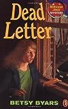 Dead Letter, Betsy Byars, 0140381384