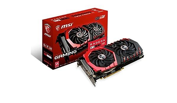MSI Radeon RX 480 Gaming 8G Radeon RX 480 8GB GDDR5 ...