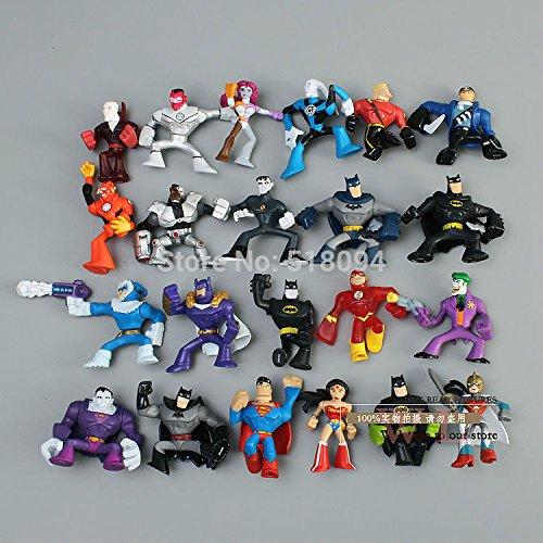 (HOLLUK Super The Mini PVC Action Figure Toys Dolls 22Pcs/Set Hrfg049 -Multicolor Complete Series)