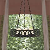 Outdoor European Style Chandelier Pillar Candle Holder Indoor Outdoor Sophisticated Modern Design and Look For Your Patio Outside Space