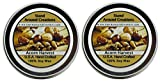 Premium 100% Soy Wax Aromatherapy Candles - Set of 2- 2oz Tins - Acorn Harvest: A warm earthy, nutty aroma w/ rich buttery vanilla.