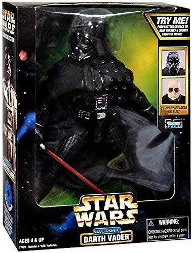 Star Wars 12 Electronic Darth Vader Action Figure by Kenner Hasbro Toys SW12DV