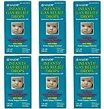 MAJOR Infants Gas Relief Drops SIMETHICONE-20 MG/0.3 ML White 30 ML UPC 309045894309 (6 Pack)
