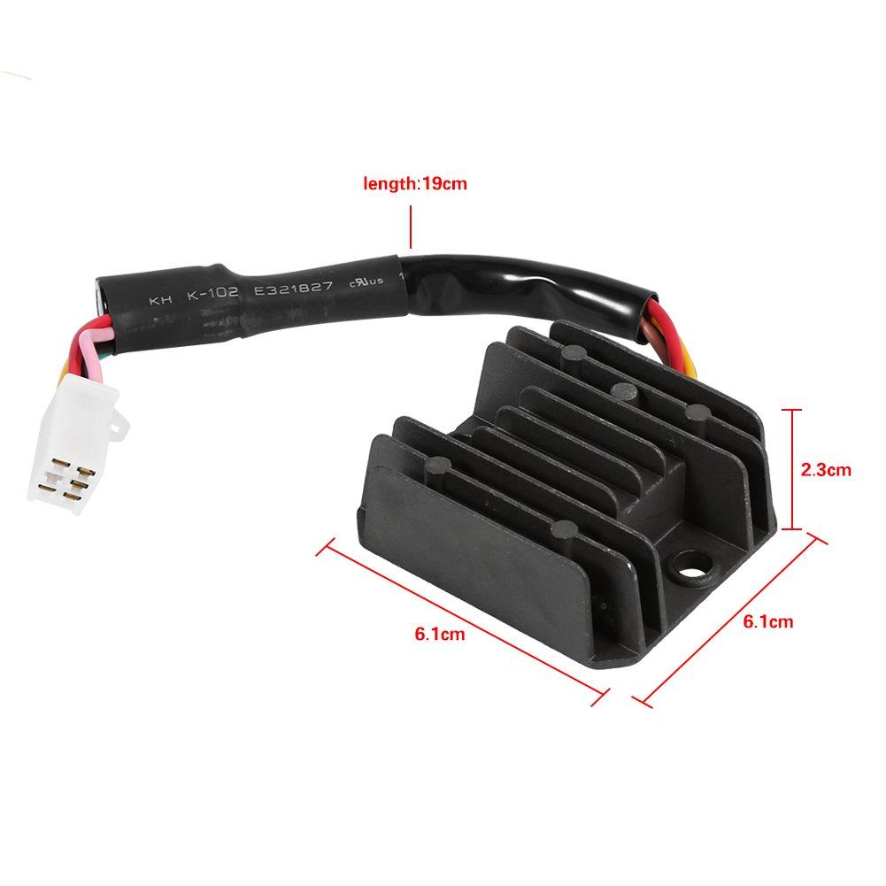 VGEBY Universal Motorrad 5 Gleichrichter Regler Spannungsregler ...
