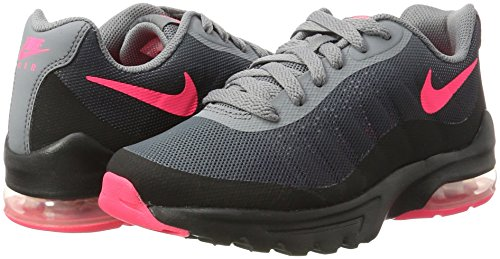 Nike Air Max Invigor GG, Sneakers Basses Fille, Noir (Black