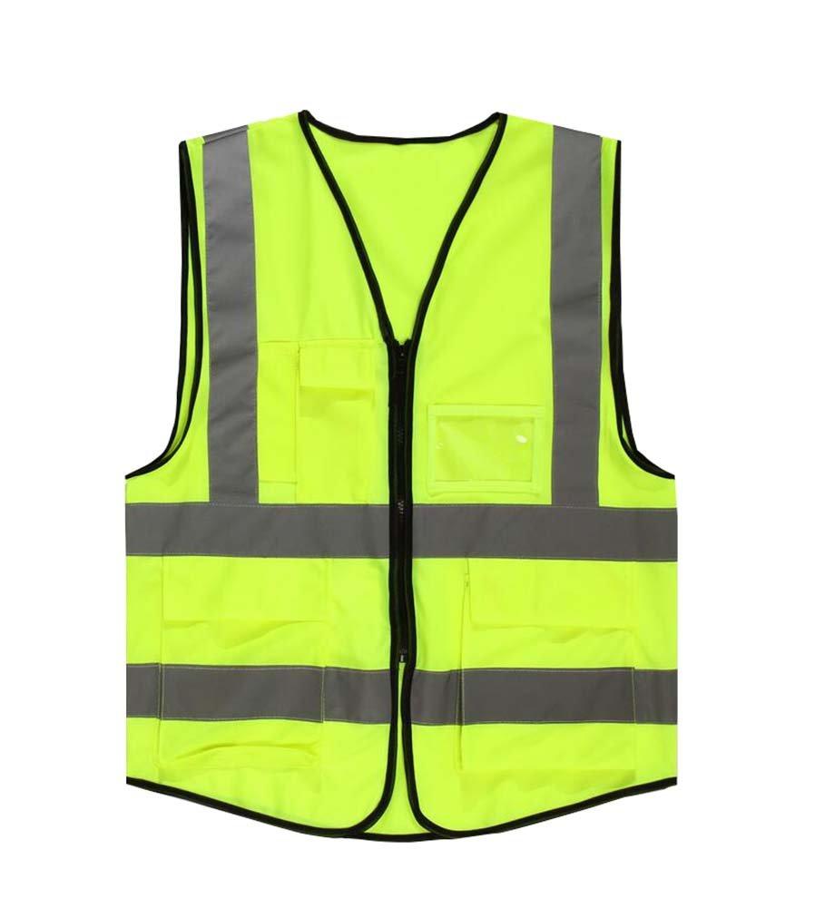 【最安値に挑戦】 Durable B073SP1BS9 Street Street Durable Workersベスト高可視性反射テープポケット付き B073SP1BS9, もったいない本舗:65c46c4f --- a0267596.xsph.ru