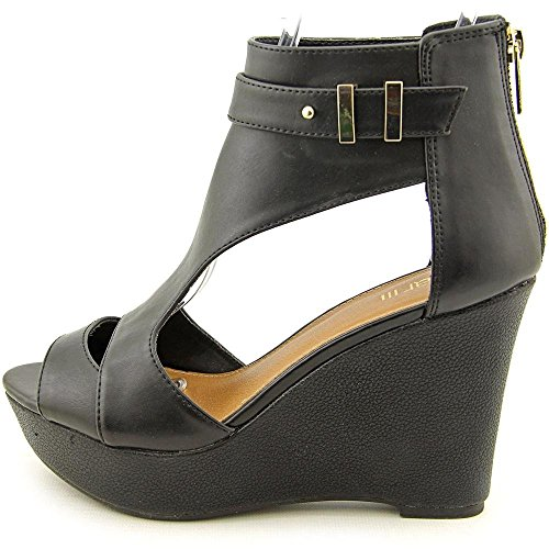 Sandal Women III Susie Susie US Bar US III Bar 9 9 Wedge Black Women wxtOWq4gC