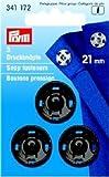 Prym Boutons-pression  coudre 21 mm laiton noir