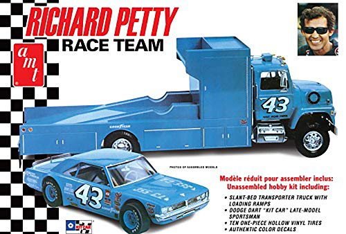 AMT AMT107206 1/25 Petty Race Team Dodge Dart/Hauler Truck (Dodge Model Kits Trucks)