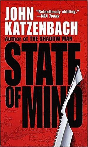 State Of Mind A Novel Of Suspense Katzenbach John 9780345422538 Amazon Com Books