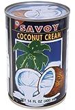 Savoy Coconut Cream, 14 Fluid Ounce (Pack of 12)