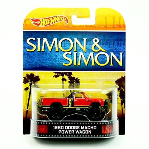 1980 DODGE MACHO POWER WAGON SIMON & SIMON Hot Wheels 2013 Retro Series Die Cast Vehicle