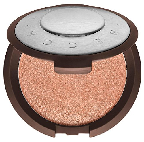 Becca Shimmering Skin Perfector Pressed Highlighter Mini Size ~ Rose Gold.085 Ounce ()