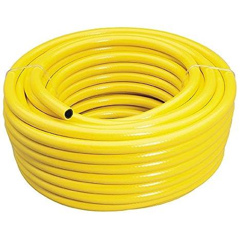 Draper Hochleistungs-Bewässerungsschlauch mit 12 mm Innendurchmesser, gelb, 1 Stück, 28758 1 Stück GH4(FFP)