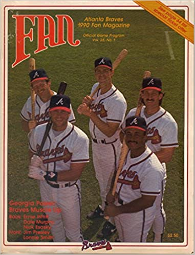 Fan Magazine, Atlanta Braves, 1990 (Vol  25, No  1): Peter Diffin