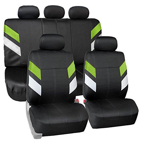 - FH Group FB086115GREEN Green Neoprene Seat Cover (Semi-Universal Modern Edge)