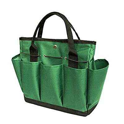 OCSOSO Garden Plant Tool Set Gardening Tools Organizer Tote Lawn Yard Bag Carrier