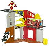 Marvel Super Hero Squad Mini Playset - Superhero City Spidey & Iron Man