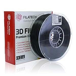 Filatech ABS Filament, Black, 1.75mm, 1KG