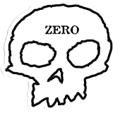 Zero Skull Skateboard Sticker 11cm wide approx skate snow surf board bmx guitar van ipad