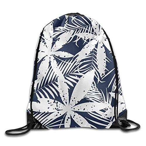 Drawstring Backpack Gym Bag Travel Backpack, Plants, Canvas Drawstring Backpack For Boys Girls from All agree
