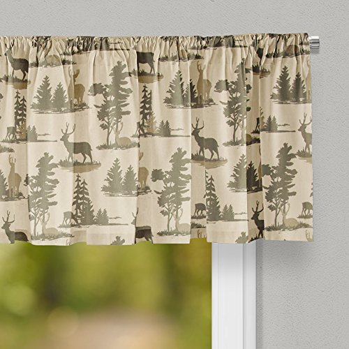 """Glenna Jean Timberline Curtain Valance 70""""W x18""""H for for sale  Delivered anywhere in USA"""