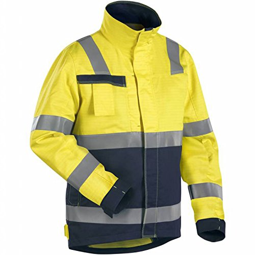 Blakläder Bundjacke Multinorm, 1 Stück, XXL, gelb / marineblau, 408715063389XXL