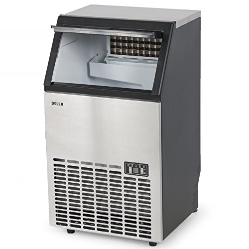 Della Stainless Steel Commercial Ice Maker Undercounter