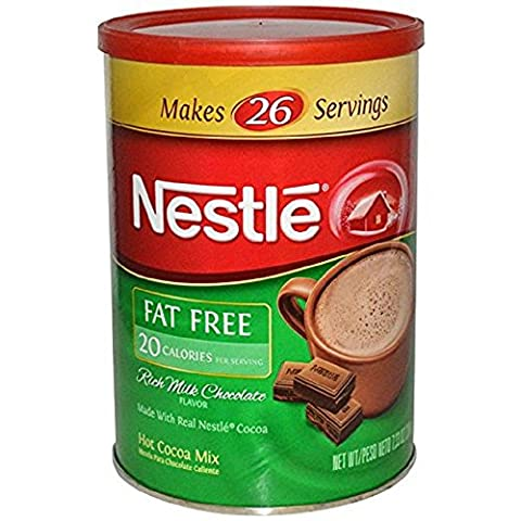 Nestle Fat Free Hot Chocolate Cocoa Mix, 7.33 Ounce Canister - Hot Chocolate With Cocoa Powder