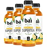 Bai Iced Tea, Tanzania Lemon, Antioxidant Infused Supertea, Crafted with Real Tea (Black Tea, White Tea), 18 Fluid Ounce Bottles, 6 count