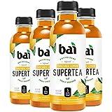 Bai Iced Tea, Tanzania Lemon, Antioxidant Infused Supertea, Crafted with Real Tea (Black Tea, White Tea), 18 Fluid Ounce Bottles, 6 count