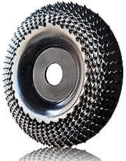 OBA Trä sliphjul vinkelslip skiva snideri skiva formande polering slipskiva för vinkelslipare, Arbor 16 mm