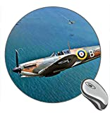 Battle of Britain Fighter PC Game Print Round Desktop Mouse Pad Gaming Rubber Mouse Pad
