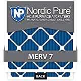 12x30x1 MERV 7 AC Furnace Filters Qty 6