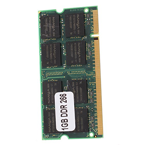 SODIAL 1GB Memory RAM Memory PC2100 DDR CL2.5 DIMM 266MHz 200-pin Notebook Laptop - 266 Mhz Notebook