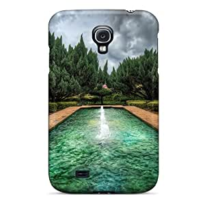 Rugged Skin Case Cover For Galaxy S4- Eco-friendly Packaging(the Garden)