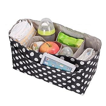 Artempo Baby Diaper Bag Insert Organizer Storage (14 x 6.4 x 8 inch)