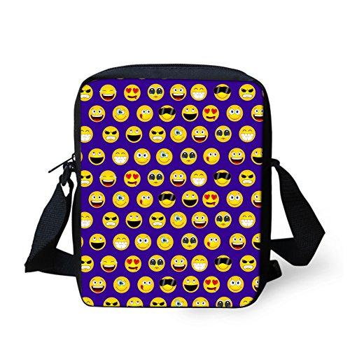 Violet Sac pour H357E Emoji10 IDEA bandoulière petit femme HUGS petit Y Emoji10 q1t8n716