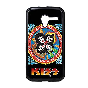 Generic Soft Friendly Phone Cases For Guys Printing Band Kiss For Moto X Choose Design 4