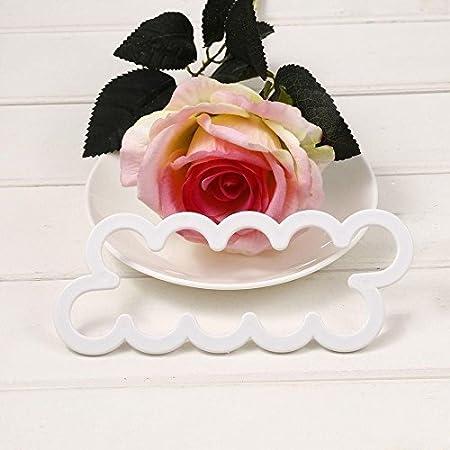 Muffins Cookies Roses - Molde para tartas de galletas, diseño de flores: Amazon.es: Hogar