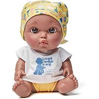 Juegaterapia- Baby PELÓN LEIRE, Color Negro (MUÑECAS Arias S.L. 181)