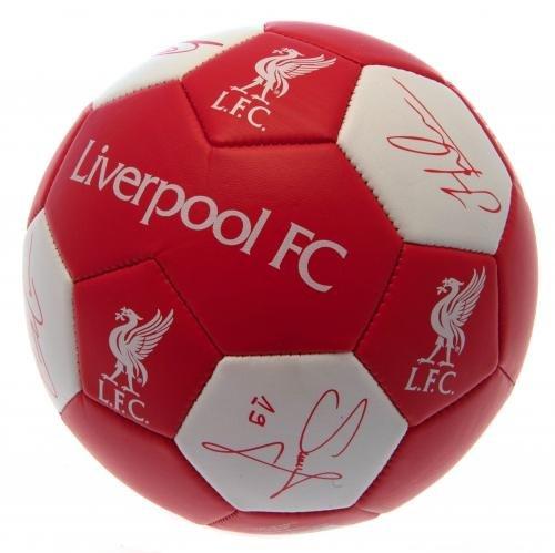 Liverpool FCニュースキンFootballサイズ3 B07C7GC67Q