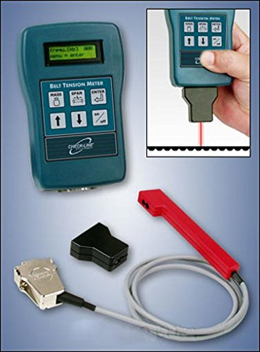 BTM-400Plus Belt Tension Meter / Trummeter, Range 3 - 800 Hz by Checkline