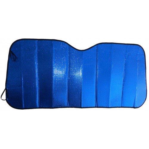 Tapalas Pare Soleil Bleu pour Pare-Brise de Renault Zo/é 053 Bleu 130 x 60 cm